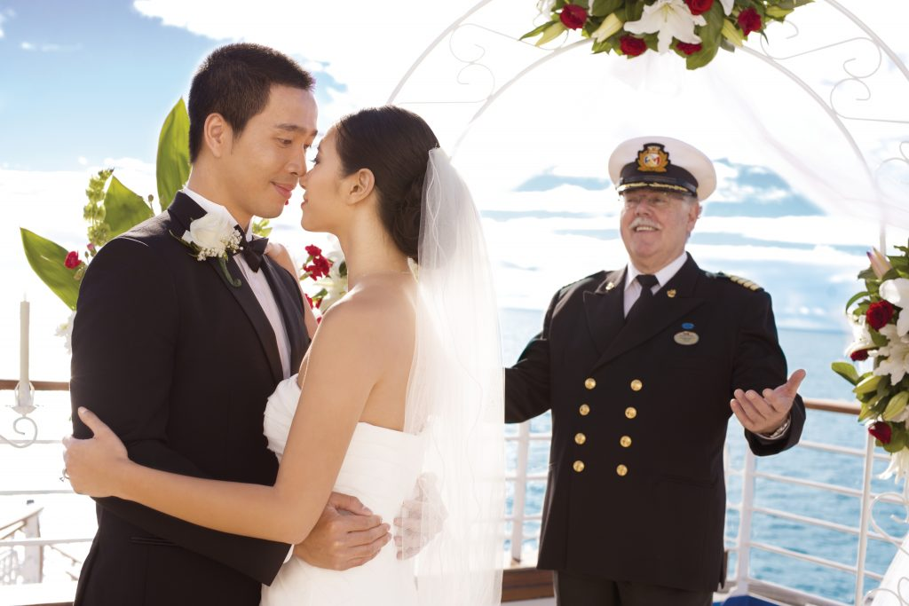 Wedding onboard - Princess Cruises