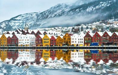 Wintertime in Norway