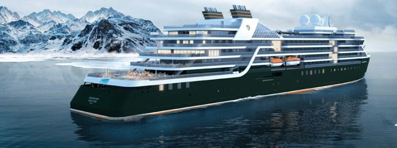 Seabourn Venture luxury cruise ship