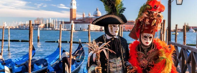 Venice festival on a cruise