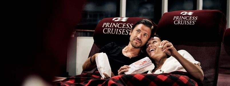 Romantic couples cruise on Princess