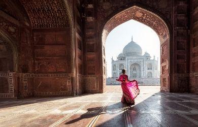 Agra on a cruise tour