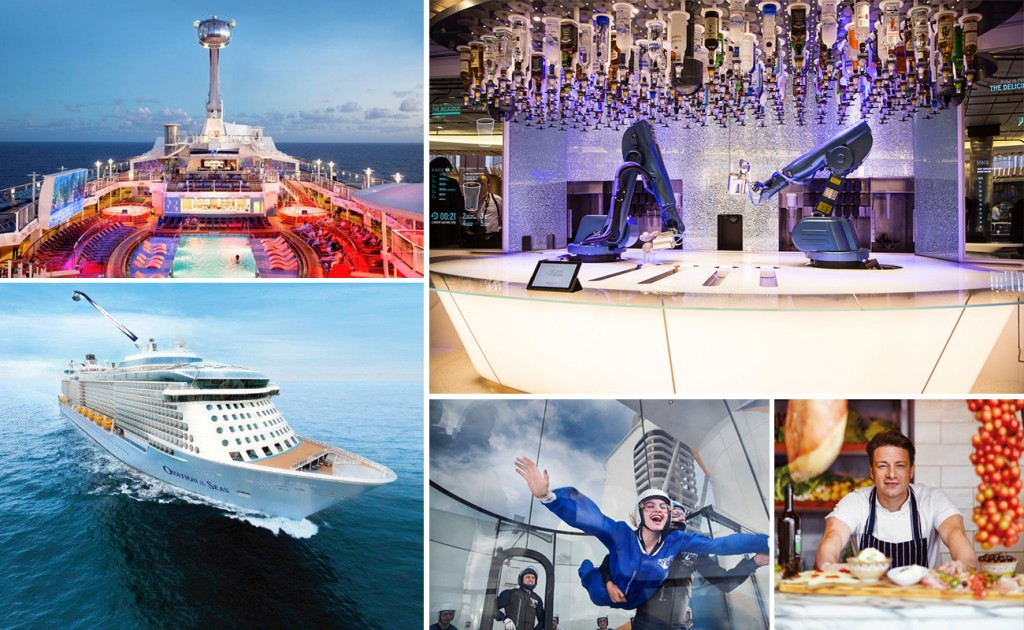 Ovation of the Seas by Royal Caribbean