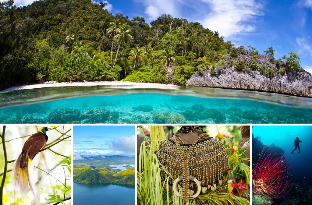 Papua New Guinea cruising